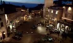 Town Square in Assisi