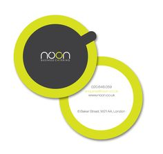 Noon Business Catering by Karolina B , via Behance