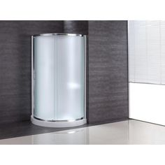 Ove Decors 31 in. x 31 in. x 76 in. Shower Kit with Intimacy Glass, Shower Base and Wall in White-OVE Breeze 31 Kit Paris glass with walls at The Home Depot