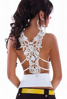 Free shipping + Lowest price 2013 Sexy uffle Top with Sexy Case Back For Embroidery LC25065 $6.99