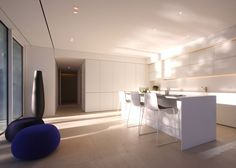 JM Architecture lines L-shaped villa with Mosa's ceramic tiles