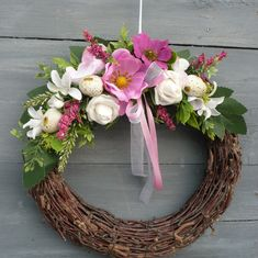 Grapevine Wreath, Grape Vines, Easter, Home Decor, Wreaths, Festivus, Flip Flops, Decoration Home, Room Decor