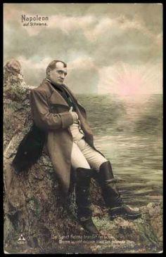 Postcard Napoleon auf St. Helena, der gefangene Titan