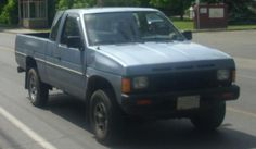 1986 Nissan Hardbody (mine was dark blue) Pick Up Nissan, Nissan Hardbody, Nissan Trucks, Monster Trucks, Vehicles, Family Cars, Dark Blue, Diagram, Cook