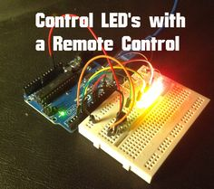 Arduino – Control LEDs with IR Remote Control