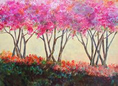 Penny's Crepe Myrtles- Is it finished? - WetCanvas.