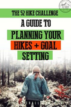 The 52 Hike Challenge: A guide to planning your hikes and goal setting. Hiking Places, Hiking Tips, Camping And Hiking, Camping Life, Hiking Gear, Hiking Food, Family Camping, Backpacking Checklist, First Time Camping