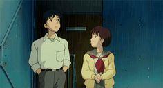 Whisper of the Heart | Miyazaki | Studio Ghibli | (gif)