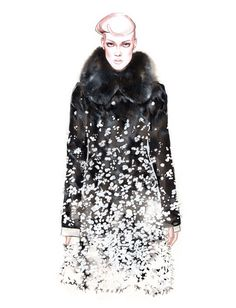 Fashion illustration project Fall Winter 2016 part I