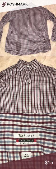 Van Heusen Mens Button Up! Brand new, never worn. Smoke free home Van Heusen Shirts Dress Shirts
