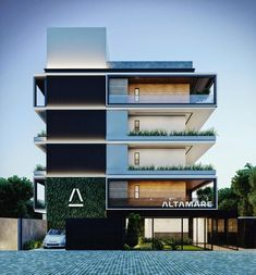 history of the world Modern architecture building, House designs exterior, Architecture house, Modern house design, House. Architecture Building Design, Hotel Architecture, Modern Architecture House, Facade Design, Exterior Design, Building Designs, Residential Building Plan, Building Facade, Residential Architecture