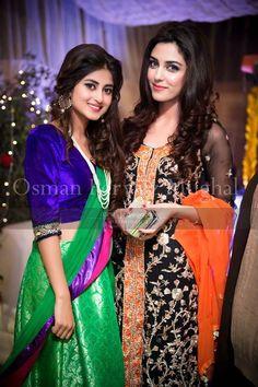 sajjal Ali and Maya Ali