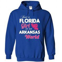 A FLORIDA-ARKANSAS girl Pink04 - #mens tee #diy tee. PRICE CUT => https://www.sunfrog.com/States/A-FLORIDA-2DARKANSAS-girl-Pink04-RoyalBlue-Hoodie.html?68278