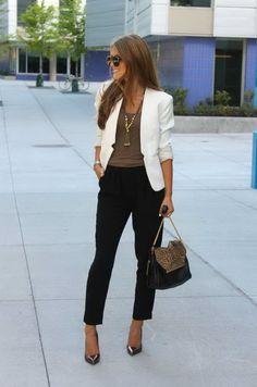 Street Style Tips: Cropped Pants | FashionGum.com
