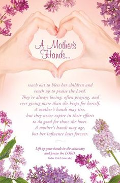 A Mother's Hands!