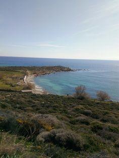 Santorinious beach, Syros island Greece