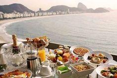 もう言葉が見つかりません…。 朝日を眺めながらの朝ごはん素敵過ぎる!