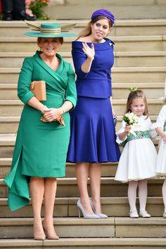 Sarah, Duchess of York, Princess Beatrice of York, Princess Charlotte, Eugenie Wedding