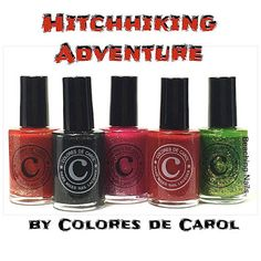 Surfer Girl aka       Beaching Nails: Hitchhiking Adventure Collection-Swatch and review...