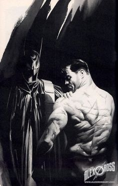 Being Batman leaves its scars...