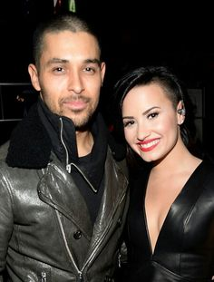 Demi Lovato and Wilmer Valderrama at KIIS FM's Jingle Ball 2014 - December 5th