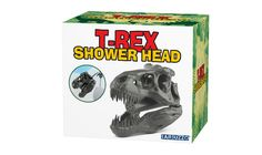 T-Rex Shower Head Bathes You In A Jurrassic Sized Spit Spray Of History's Greatest Predator  #clean #dinosaur #shower The natural world has one snarky sense of humor, doesn't it? Tyrannosaurus rex reigned 69 to 66 billion years ago as the upper Cretaceous Period's mos...