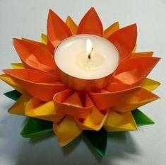 Tea Lights, Birthday Candles, Lotus, Origami, Lotus Flower, Tea Light Candles, Origami Paper, Origami Art, Lily