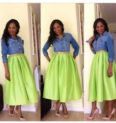 pentecostal skirts