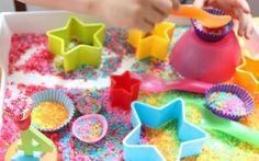 juegos sensoriales para ninos y bebes