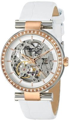 women watches : best white watches for women Kenneth Cole New York