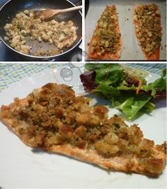 Ricetta filetti di trota con panatura croccante.