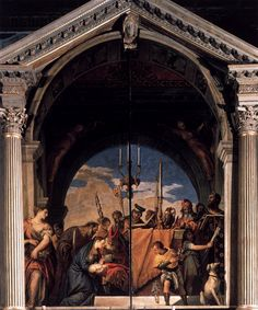 Presentation in the Temple, 1560 Paolo Veronese