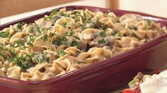 Recipe, grocery list, and nutrition info for Hamburger Stroganoff Casserole. Just a pinch of nutmeg adds unexpected and appealing flavor to this basic creamy noodle dish. Stroganoff Casserole Recipe, Hamburger Stroganoff, Ground Beef Stroganoff, Turkey Stroganoff, Beef Dishes, Pasta Dishes, Hamburger Dishes, Hamburger Recipes, Dinner Dishes