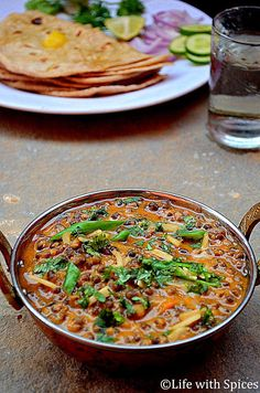 This is a rich dal preparation in a creamy gravy makes a perfect accompaniment for Indian Breads n rice as well. Made Tandoori roti to go with this dal makhmali fo lunch!! This a is a complete Punjabi style dalpreparation. Recipe is from Quickn Easy Indian Treasures a cookbook by Mayuri Bhargava.. I love all …