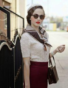 La Bouilloire Noire: 1920s- 1940s Inspired Fall Fashion