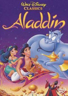 Aladdin obsessed w all disney movies.from aladdin to shrek to ice age. Film Aladdin, Disney Aladdin, Disney Amor, Disney Love, Aladdin 1992, Watch Aladdin, Genie Aladdin, Disney Films, Cartoons