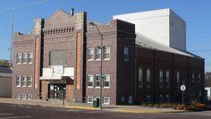 West Point City Auditorium in Cuming County, Nebraska.