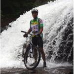 If you are planning on getting-into mountain-biking, read this post. It has some great advice.bike in waterfall
