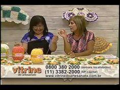 ▶ Flores com Cristina Luriko - Vitrine do Artesanato na TV - YouTube