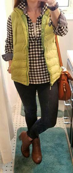 Stitch Fix jeans and purse!
