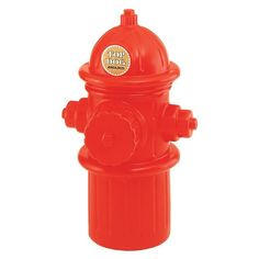 Hueter Toledo Plastic Fire Hydrant Storage Container is a multi-purpose container in the fun shape of a fire hydrant that's perfect for holding pet food, toys and much more. It's decorative design can serve many purposes in various locations, including college dorms, camping, boating. Plus, it's made of color molded polyethylene plastic so it won't break, fade rust or rot.