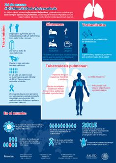 Hoy se conmemora el #DiaMundialdelaTuberculosis. #Infografia on Twitpic