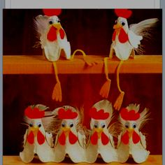 Egg carton chicken project
