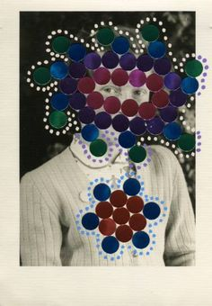 "Saatchi Art Artist Naomi Vona; Collage, ""Stellar"" #art"