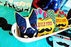 Pupstachio Mustache Doggie Cookies - B. Lovely Events