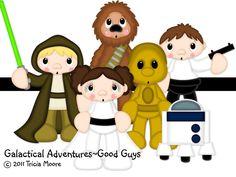 For all the Star Wars fans out there, this is perfect! Only at from Little Scraps of Heaven Designs