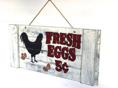 Which came first?  The Chicken or the Egg? by Wendy on Etsy