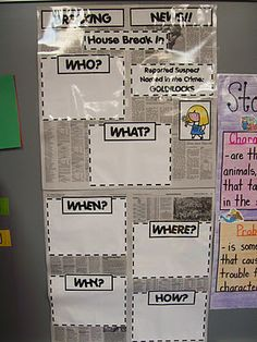 Great idea for story map (first grade blog but I can so see this with my fifth graders)