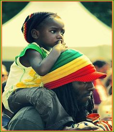 Rasta Colors by ~facesastheycome. I love this picture! Bob Marley, Black Love, Black Is Beautiful, Beautiful People, Black Men, Black Fathers, Fathers Love, We Are The World, People Of The World