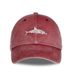 f74d1487c0eb0 2018 new arrival Dad Hat cartoon shark embroidery wash cotton baseball cap  Fashion snapback hats casual caps hat men sports cap